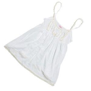 Victoria Secret White Babydoll Chemise